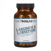 L-Arginine & L-Ornithine 100 капсул Twinlab