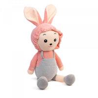 Мягкая игрушка Зайчик серый To-ma-to  30 см DL-002203-Grey
