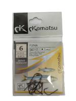 Рыболовные крючки Kamatsu SODE № 6