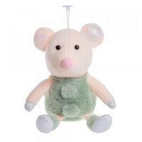Мягкая игрушка Мышка зеленая To-ma-to 20 см DL-03701Green