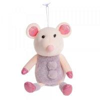 Мягкая игрушка Мышка фиолетовая To-ma-to 20 см DL-03701Violet