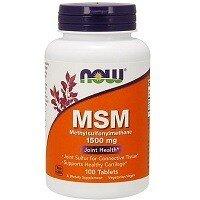 MSM 1500 мг 100 таблеток NOW