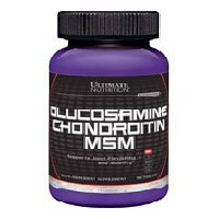 Glucosamine & Chondroitin + MSM 90 таблеток Ultimate Nutrition
