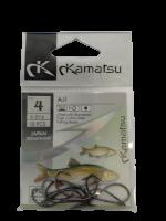 Рыболовные крючки Kamatsu AJI № 4