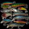 Набор воблеров Fortuna 5 шт цвет, длина - в ассортименте