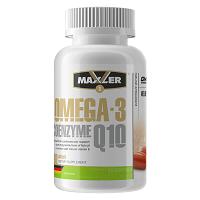 Omega 3 Coenzyme Q10 60 гелевых капсул Maxler
