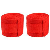 Бинты для бокса 3,5 метра 2 шт цвет Красный