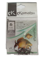 Рыболовные крючки Kamatsu ISEAMA № 6