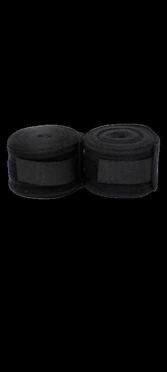 Бинты для бокса 3,5 метра 2 шт цвет Черный
