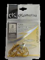 Рыболовные крючки Kamatsu Funa № 3