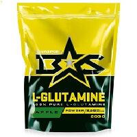 Glutamine Powder 200 гр Binasport  вкус Черная смородина