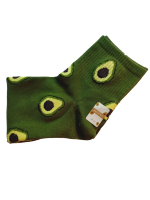 Носки женские с авокадо SYLTAN темно-зеленые размер 37-41 арт 2126