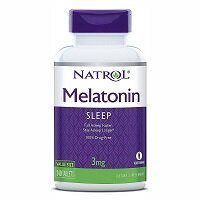 Melatonin 3 мг 60 капсул Natrol