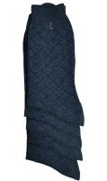 Носки мужские 5 пар серые размер 25 Grand