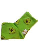 Носки женские с авокадо SYLTAN светло-зеленые размер 37-41 арт 2126