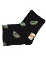 Носки женские с авокадо SYLTAN черные размер 37-41 арт 2126