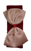 Резинка широкая с бантом Duolaimei №4