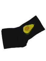 Носки женские с авокадо Nice Sokcs черные размер 36-41