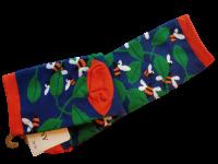 Носки женские с пчелой AMIGOBS сине-зеленые размер 35-40