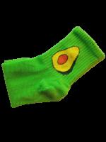 Носки женские с авокадо Nice Sokcs зеленые размер 36-41