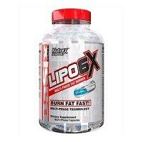 Lipo 6X 120 капсул Nutrex