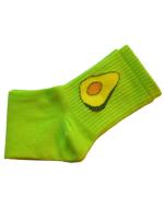 Носки женские с авокадо Nice Sokcs светло-зеленые размер 36-41
