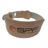 Пояс тяжелоатлетический широкий бежевый HSF-401 SPF Fitness размер M