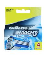 Сменные кассеты MACH3 Turbo Gillette  4 шт