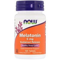 Melatonin 5 мг 120 капсул NOW