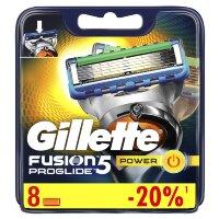 Сменные кассеты Gillette Fusion5 ProGlide Power 8 шт