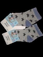 Носки детские 2 пары размер 12-16 Твой стиль № 3026 Светло-серые