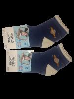 Носки детские 2 пары размер 12-16 Твой стиль № 3026 Синие рисунок Планета