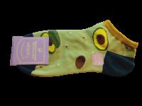 Носки женские с авокадо Туркан зеленые размер 36-41