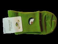 Носки женские с авокадо Натали зеленые размер 37-41
