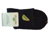 Носки женские с авокадо Натали черные размер 37-41