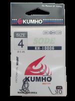 Рыболовные крючки KUMHO KH-10006 № 4