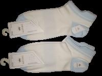 Набор носков  2 пары размер 37-41 Корона № 220 Голубые