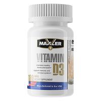 Vitamin D3 180 капсул Maxler