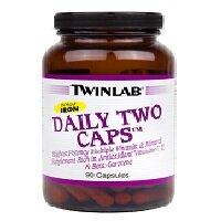 ​Daily Two Caps Without Iron 90 капсул Twinlab