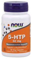 5-HTP 50 mg 30 капсул NOW