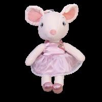 Мягкая игрушка Мышка в розовом платье  To-ma-to  37 см DL-05614-pink