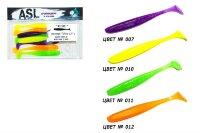 """Приманка съедобная """"Изи"""" ASL 8 штук 7,5см. (3""""), цвет MIX"""