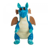Мягкая игрушка Дракон синий To-ma-to  25 см DL-04301-Blue