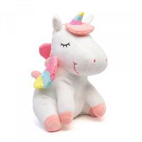 Мягкая игрушка Единорожка белый To-ma-to 22 см DL-01309-White