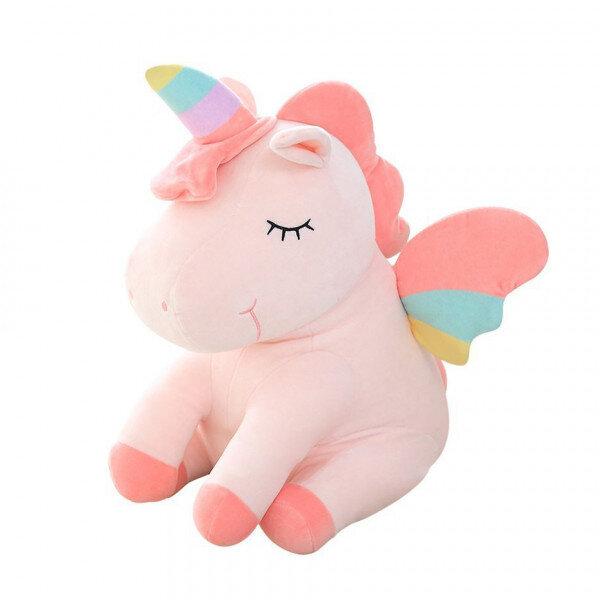 Мягкая игрушка Единорожка розовый To-ma-to  22 см DL-01309-Rose