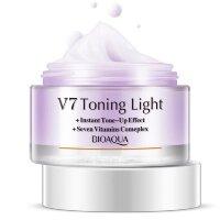 Увлажняющий крем для лица  V 7 с тонирующим эффектом BIOAQUA 50 гр (Фиолетовый)