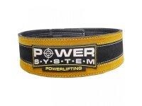 Пояс для пауэрлифтинга PS-3840 Power System Цвет Желтый