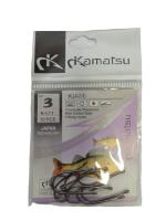 Рыболовные крючки Kamatsu KIAMI № 3