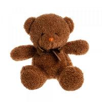 Мягкая игрушка Мишка коричневый To-ma-to  20 см DL-02603-DarkBraun