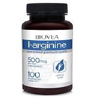 L-Arginine 500 мг 100 капсул BIOVEA